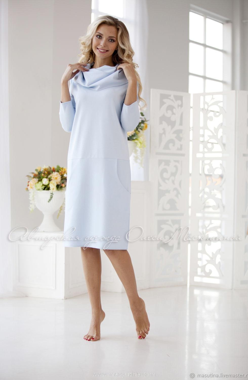 """Платье """"Airy blue"""""""