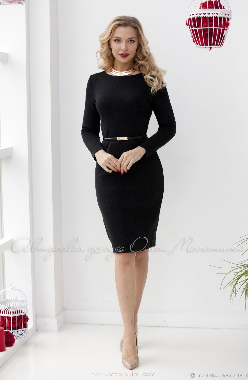 """Платье """"Базовое черное"""" по супер цене"""