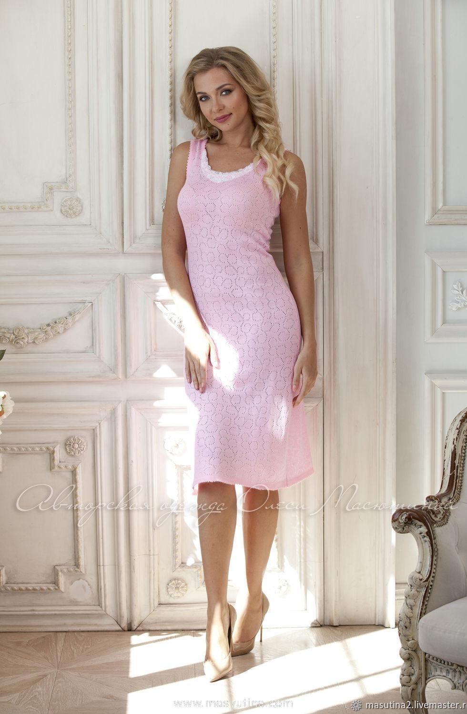 """Платье """"Бело-розовый зефир"""""""