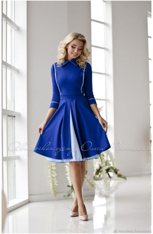 """Платье """"Cinderella blue"""""""