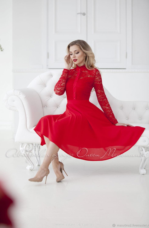 """Платье """"Iconic reds"""""""