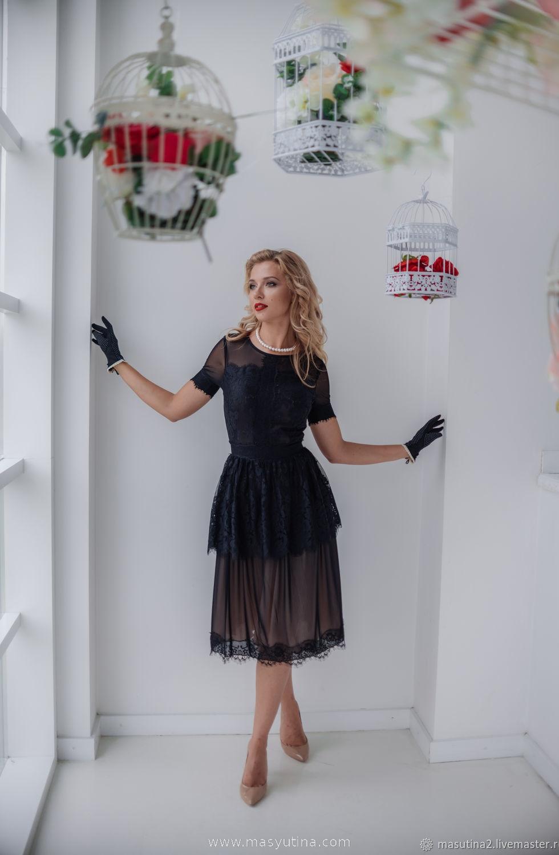 "Платье ""Королева иллюзий"""