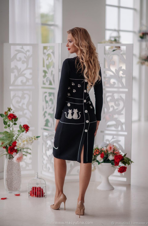 """Платье """"Кошкин дом"""""""