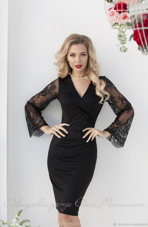 """Платье """"Luxury black"""""""