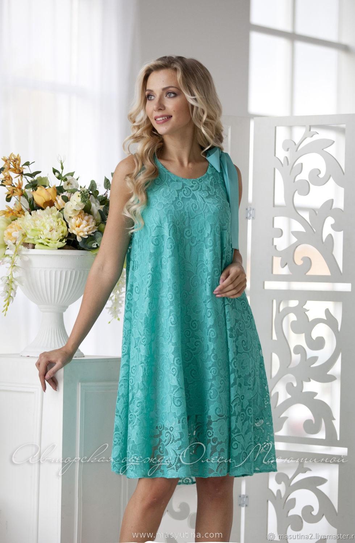 """Платье """"Мятная жвачка"""""""