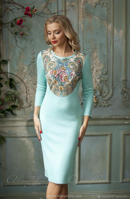 """Платье """"Морозный узор"""""""