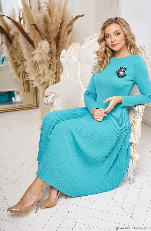 """Платье """"Морская вода"""""""
