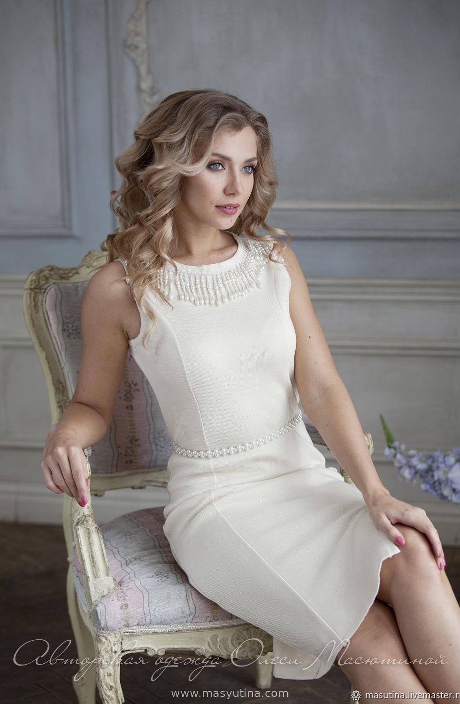 """Платье """"Перламутровый жемчуг"""""""