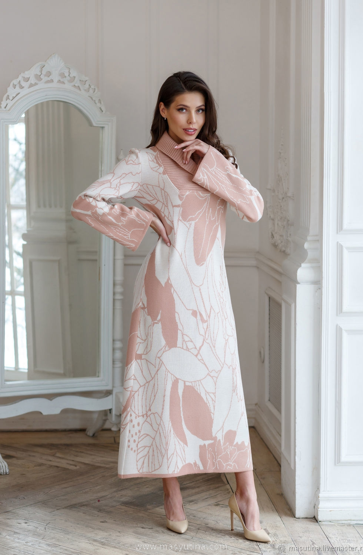"""Платье """"Персиковый зефир"""""""