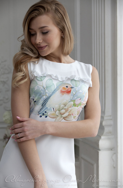 """Платье """"Певчая птица"""""""