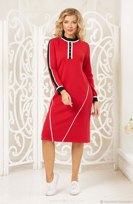 "Платье ""Red fox"""