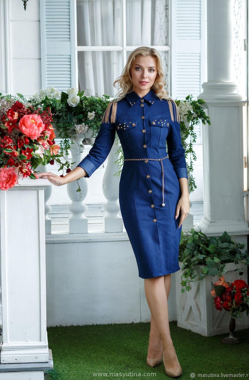 """Платье """"Роскошный джинс"""""""