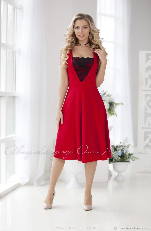 """Платье """"Rouge allure"""""""