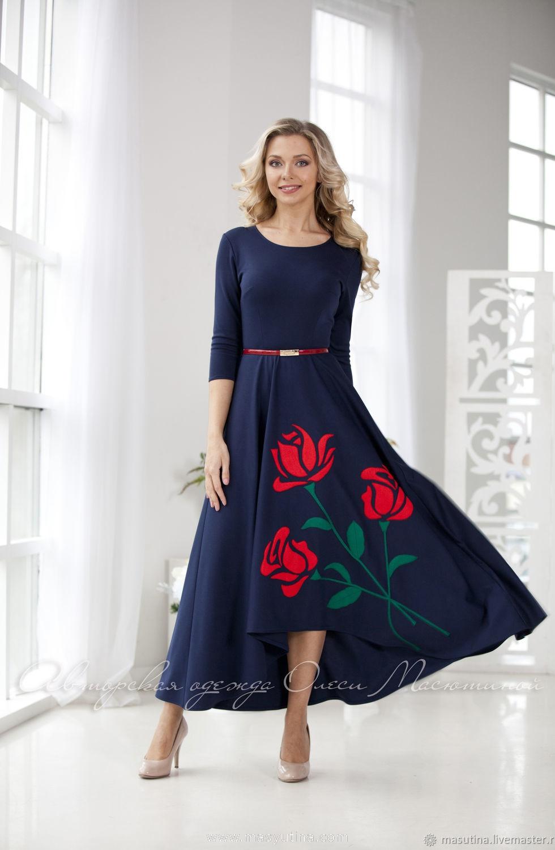 """Платье """"Розы для любимой"""""""