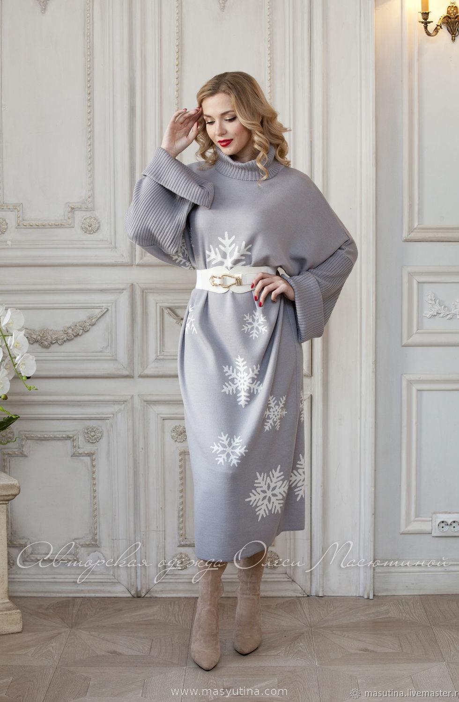 """Платье """"Снегопад"""""""