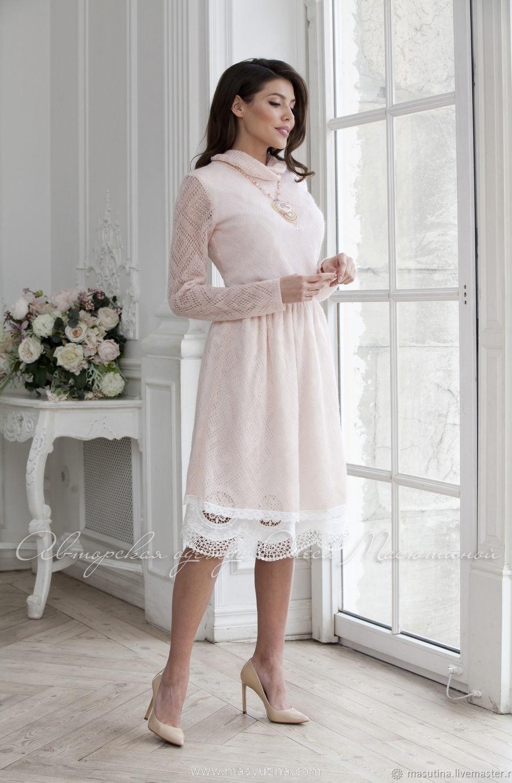 """Платье """"Снежок"""" nude"""