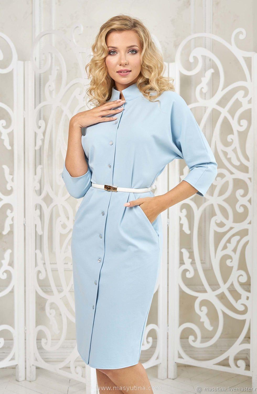 """Платье """"Соланж blue"""" по супер цене!"""