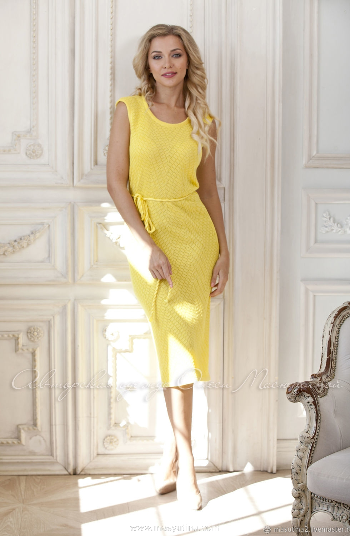 """Платье """"Желтая земляника"""""""