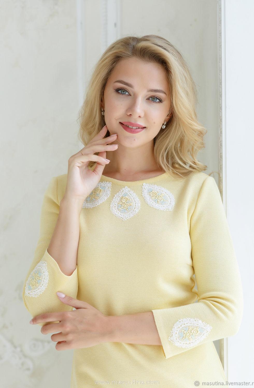 """Платье """"Желтый лимон"""""""
